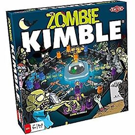 Brand New Tactic Games Zombie Kimble Pop n Play Board Game Toy sealed in packaging