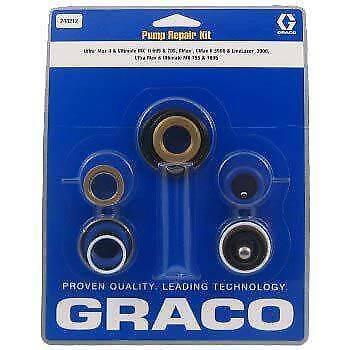 248212 Graco Pump Packing Repair Kit For Ultra Max Ii 695795 Gmax 3900 ...