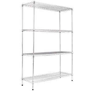 $50 Commercial Silver Storage Shelving