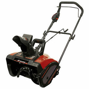 Snowblower -King Canada 18-in. Electric Snow Thrower - Open Box