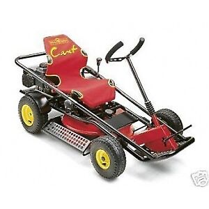 Wanted - Yardworks go kart lawn mower