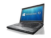 Intel i3 320GB HDD Lenovo 14 Inch Laptop 12 Mnths Wrnty Professionally Refurbished MS Office