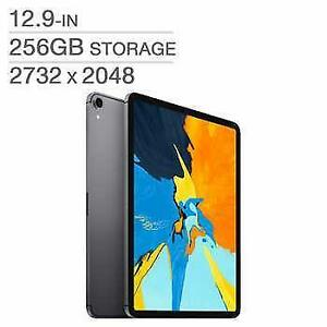Tablet Apple iPad Pro 3rd Geneneration 12.9 INCH 256GB A12X Wi-Fi SpaceGray MTFL2VC/A - WE SHIP EVERYWHERE IN CANADA !