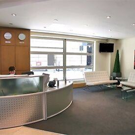 Impressive Cannon Street serviced offices near the station from £450pcm