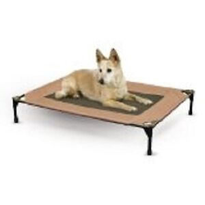 K&H Manufacturing Pet Cot, Large, Chocolate