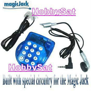 Super mini magicJack Phone Skype blue pocket VOIP home trip