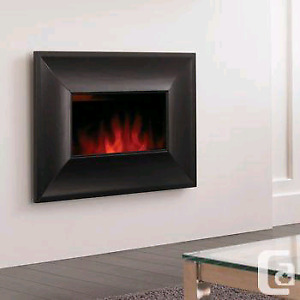 Bionair front flow electric fireplace NEW