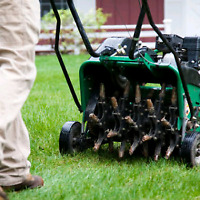 Lawn Aerating starting at 35$