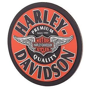 Harley Davidson Winged Bar & Shield Pub Sign (New)