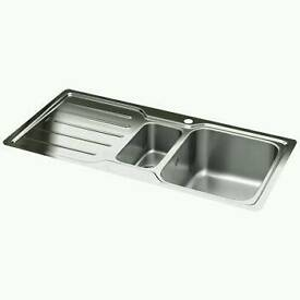 Brand new adelphi 150 kitchen sink