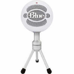 Gently Used Blue Snowball ICE Mic and USB cable 15 ft