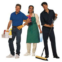 Cleaning ladies needed 12$ an hr to start with reputable company