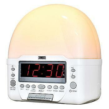 wake up light alarm clocks clock radios ebay. Black Bedroom Furniture Sets. Home Design Ideas