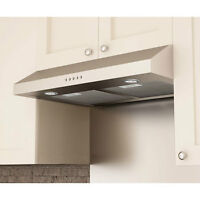 "NEW 30"" Stainless Steel Undercabinet Range Hood / Exhaust Fan"