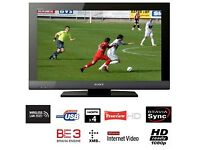 Sony BRAVIA 37 inch Full HD 1080p Internet TV ★ Ethernet/LAN ★ Good Condition ★ USB ★ WiFi Ready ★