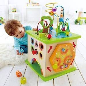 Hape country critters play cube BRAND NEW IN BOX RRP $199 Hornsby Hornsby Area Preview