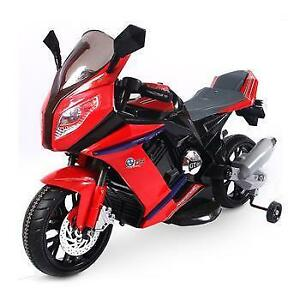 BMW Kids Ride On Motorcycle Bike | Remote Control | 6V Battery, MP3 Player, & Leather Seat  | Free Shipping & Pick up