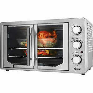 SALE ON BRAND NEW OSTER FRENCH DOOR CONVECTION TOASTER OVEN