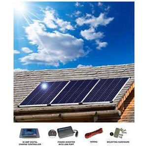 300 watt OFF-GRID SOLAR package...perfect for RV's/BOATS/CABINS Kitchener / Waterloo Kitchener Area image 2