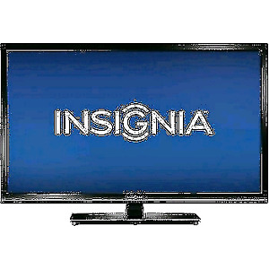Insignia 32 inch LED HDTV foat screen television works perfectly