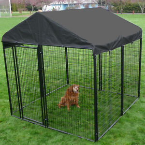 8' x 8' x 6' Dog Kennel