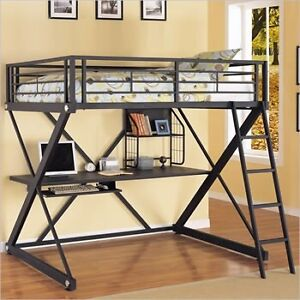IKEA Metal Bunk Bed with desk - Missing hardware