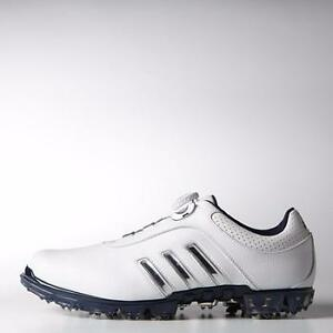 Adidas Pure Metal Boa WIDE Width Q44617 Men's Golf Shoes