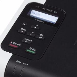Brother HL 3170CDW Wireless Digital Color Printer, 128 MB RAM, 22ppm Speed, upto 2400x600 dpi resolution, BRAND NEW