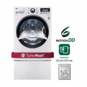 LG STEAM WASHER (WASHING MACHINE) .. TEMPORARY PRICE DROP! WOW!-GET THEM WHILE YOU CAN..OPEN GOOD FRIDAY!