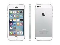 Apple Iphone 5S Silver 16gb (With box)