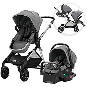 Evenflo Xpand double stroller system - brand new