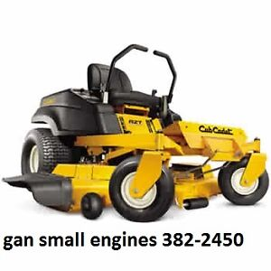 CUB CADET ZERO TURN RIDER,avail with honda,kohler or kawi engine