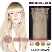White Human Hair Extensions