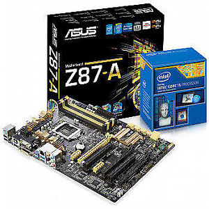Intel/AMD Motherboard&Combo (MB+CPU+Heatsink&Fan+I/O Shield)
