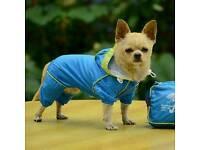 Dog coat pac a mac raincoat