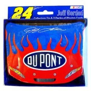 ~ JEFF GORDON 24 ~ COLLECTORS TIN WITH CARDS ~ $19.99 EACH ~