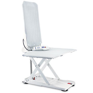 Invacare Aquatec R Reclining shower chair with Lithium battery