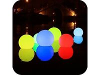 LED SPHERE LAMP/CHANGES SHADES