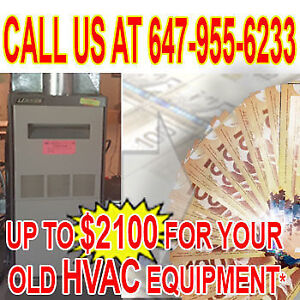 96% FURNACE, A/C, WATER HEATER, BOILER, FILTER, SOFTENER RTO