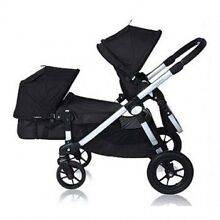 City select double pram with bassinet conversion. Blacksmiths Lake Macquarie Area Preview