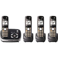 Panasonic KXTG6524 Dect6.0 4Hs Cordless Phone With Answering