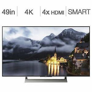 Télévision LED 49'' XBR49X900E 4K ULTRA UHD HDR 120hz Android SMART TV WI-FI  Sony - BESTCOST.CA - FAITE VITE !