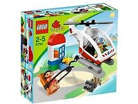 Duplo rescue helicopter set