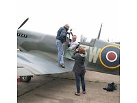 IntoTheBlue Experience Gifts & Memories -for example, Sit in a Spitfire & Hangar Tour