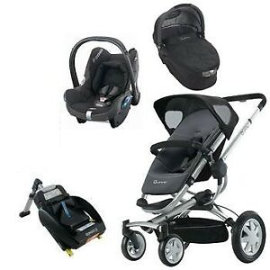 Stroller Quinny Buzz +bassinet Maxi Cosi car seat+ adapter .