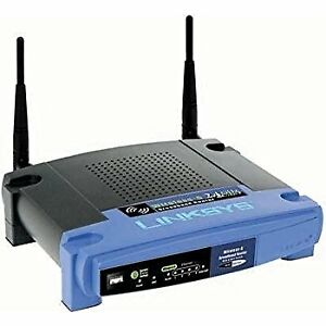 Linksys WRT54G Wireless-G BroadBand Router