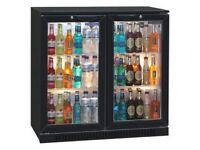 218 Bottles Blizzard BAR2 Double Door Bottle Cooler