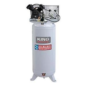 Stationary 6.5 Peak HP 60 Gallon Air Compressor