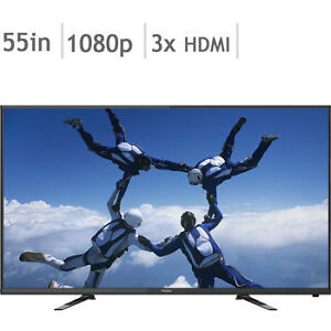"LED TV 55""-1080p full hd- with -WARRANTY-$379.99"