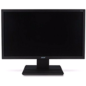 24 inch Acer Monitor LED high def black trim w\stand cords